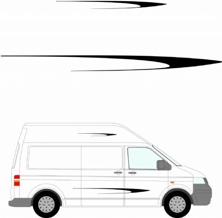 (No.223) MOTORHOME GRAPHICS STICKERS DECALS CAMPER VAN CARAVAN UNIVERSAL FITTING